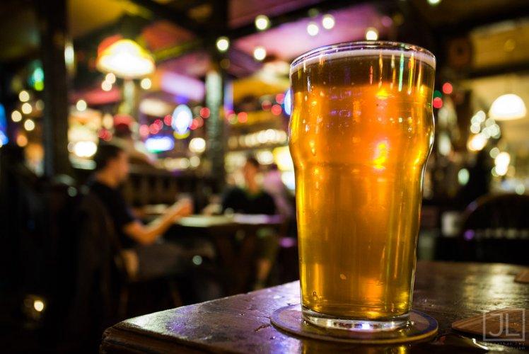 Beer in its natural habitat